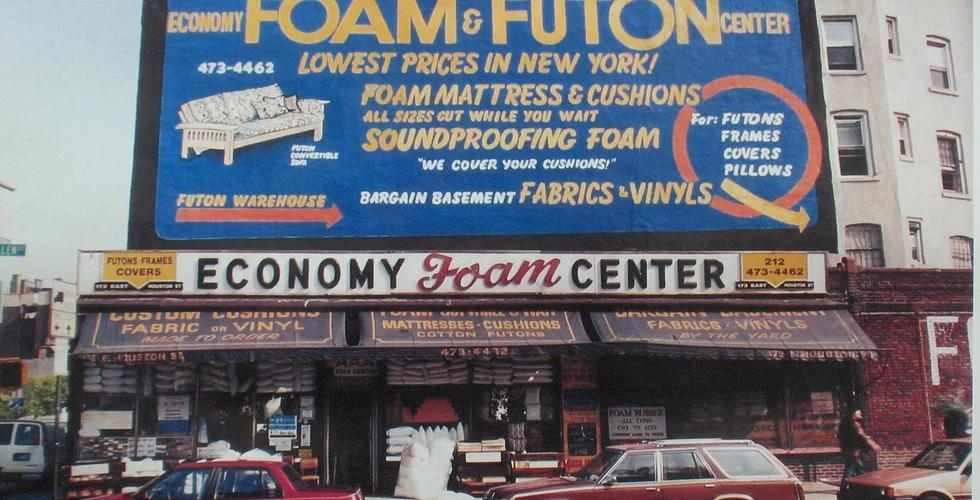 Economy Foam Original Storefront